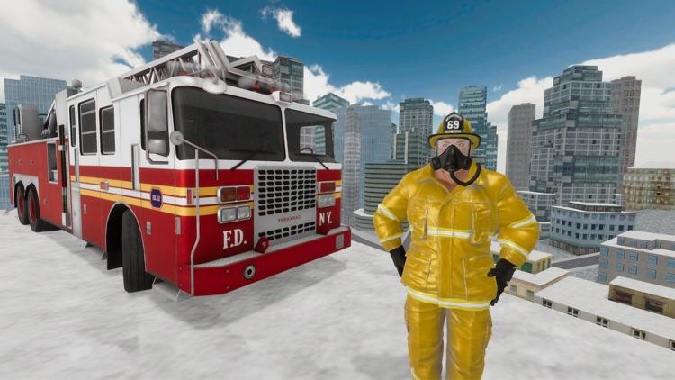 Fire Truck Game 911 Emergency screenshot-4