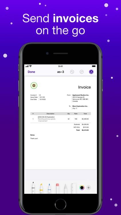 Orbit: Time-based Invoicing screenshot-4