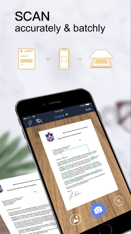 PDF Scanner-Documents Scan App screenshot-0