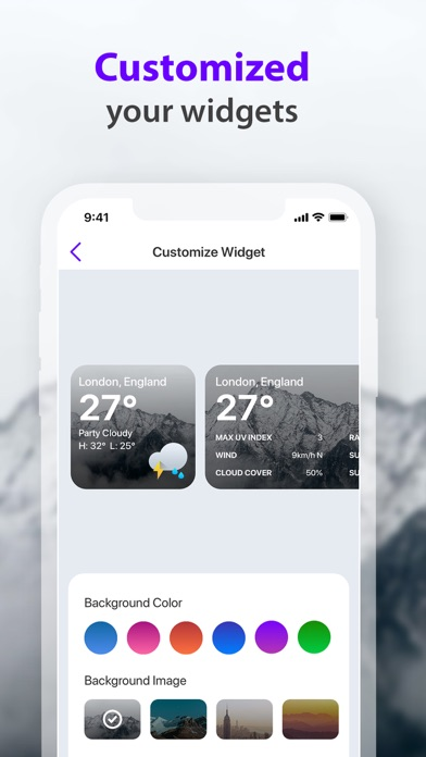 Weather Widget -Local Forecast Screenshot