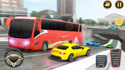City Bus Driving Simulator 3D screenshot one