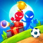 Stickman Party: 4 Player Games на пк