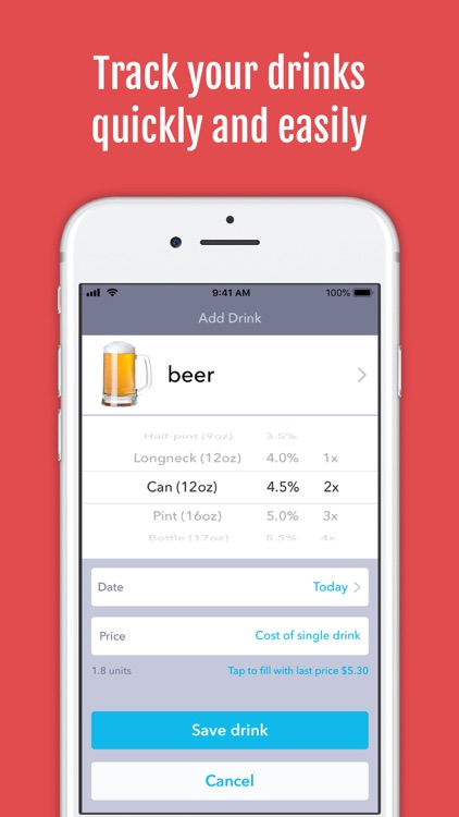 DrinkControl – Alcohol Tracker screenshot-3