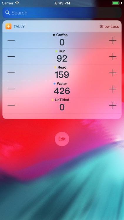 Tally+ : Count,Habit tracker screenshot-7