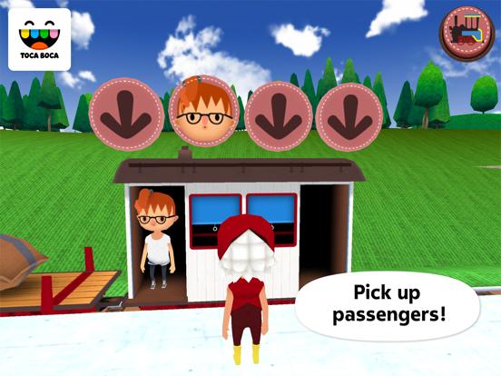 Toca Train Screenshots