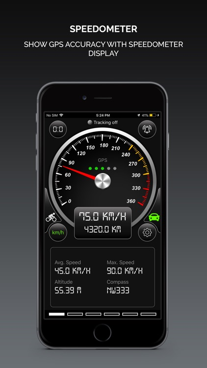 Smart GPS Speedometer PRO screenshot-0