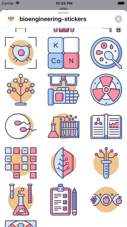 tBioengineering Stickers screenshot-6