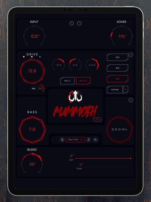 Mammoth - Bass Amp