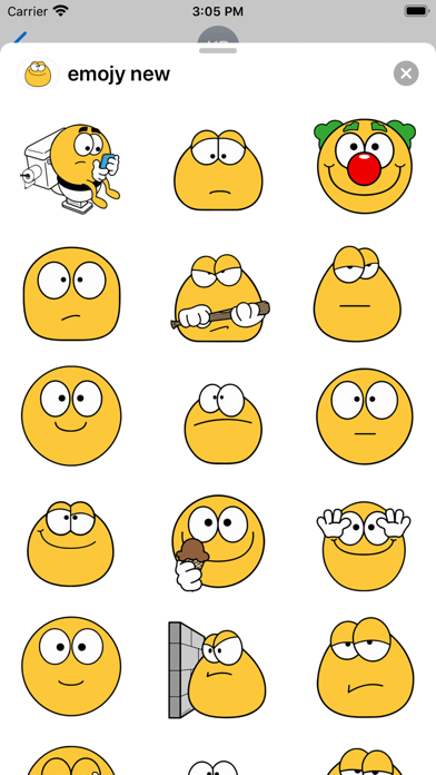 Cool emoji - Stickers for text screenshot 1