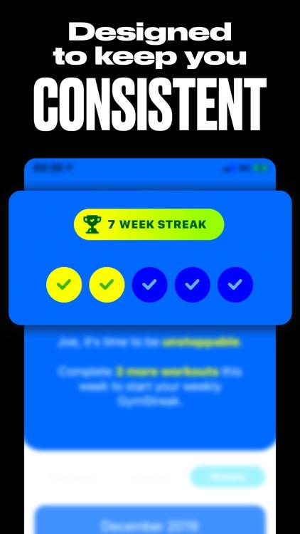 GymStreak: Workout Planner AI screenshot-3