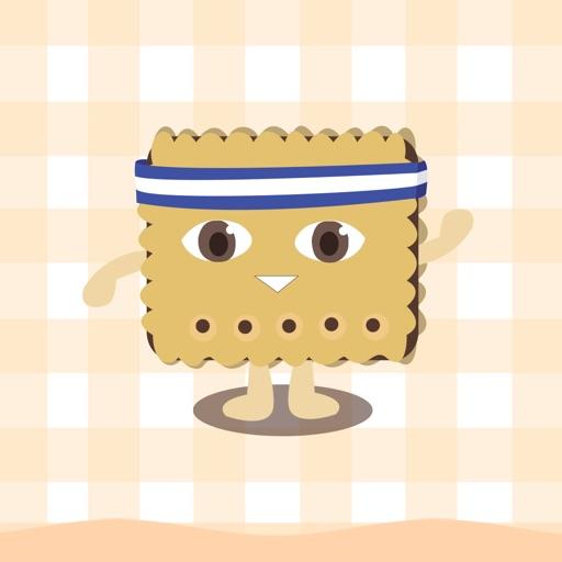 喜哈哈饼干贴纸