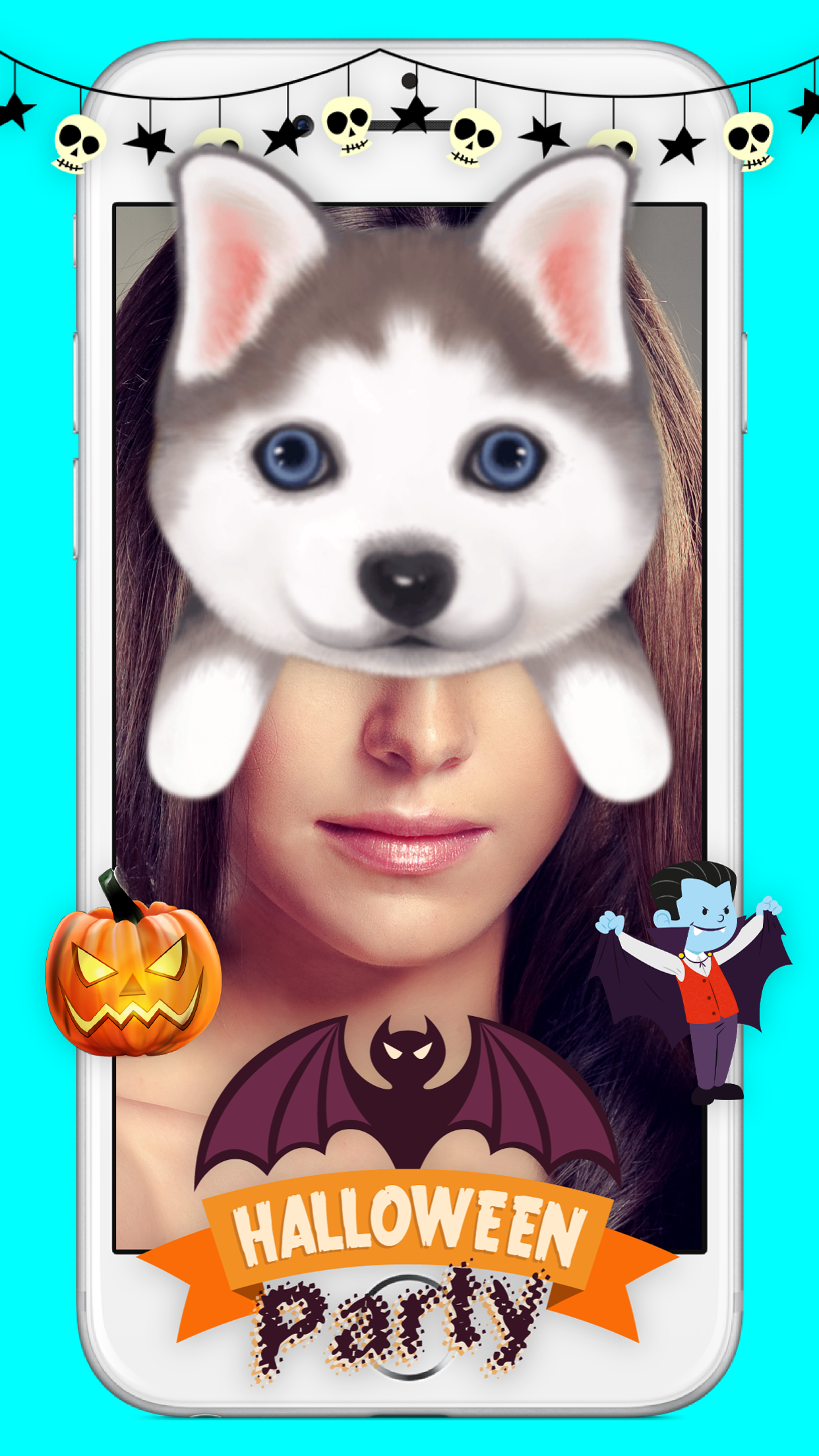 Funny Face - Photo Stickers Screenshot