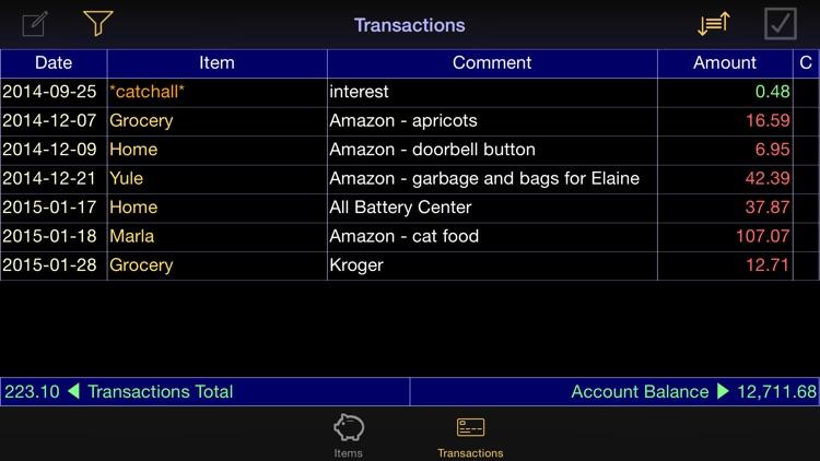 Budget Bal screenshot-4