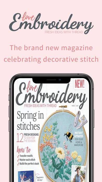Love Embroidery Magazine screenshot 1