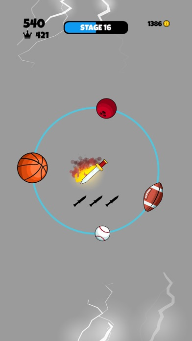 Knife vs Balls screenshot 4