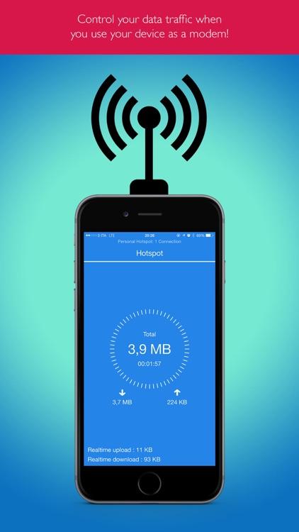 Hotspot Monitor Data Usage Pro