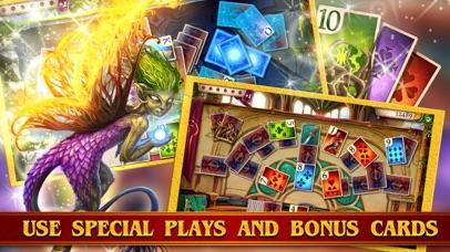 TriPeaks Solitaire Cards Queen screenshot 5