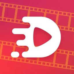 Video edit: Cut & change speed