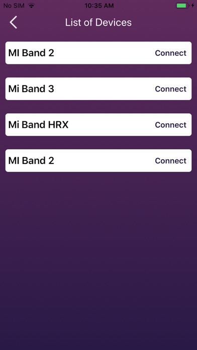 Screenshot for Mi Band App for HRX, 2 & 3 in Czech Republic App Store