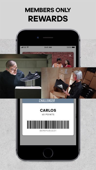 Screenshot for adidas - Sports & Style in Finland App Store