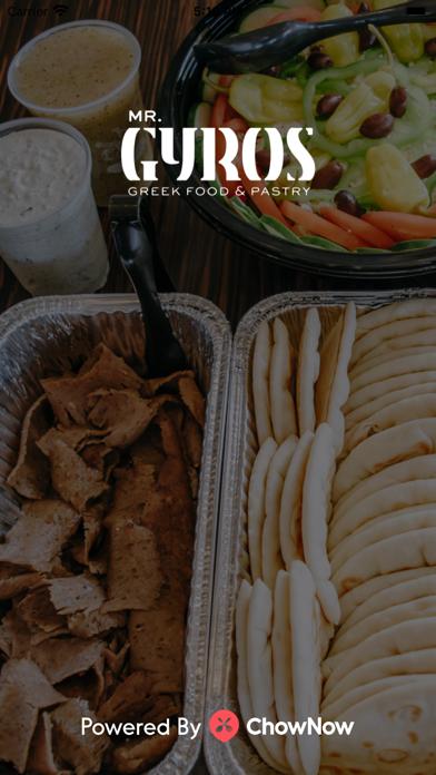 Mr. Gyros Greek FoodScreenshot of 1
