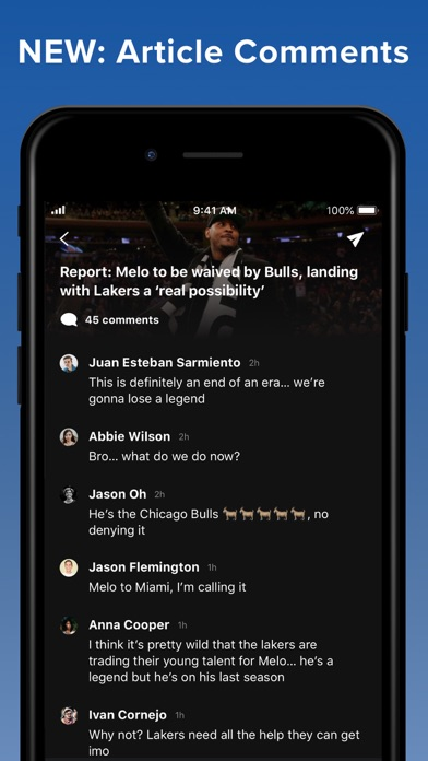 theScore: Sports News & Scores screenshot two