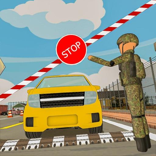 Border Patrol -Stickman Police Icon