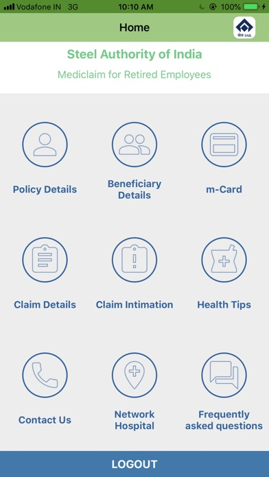 Screenshot for CARE-SAIL in Greece App Store