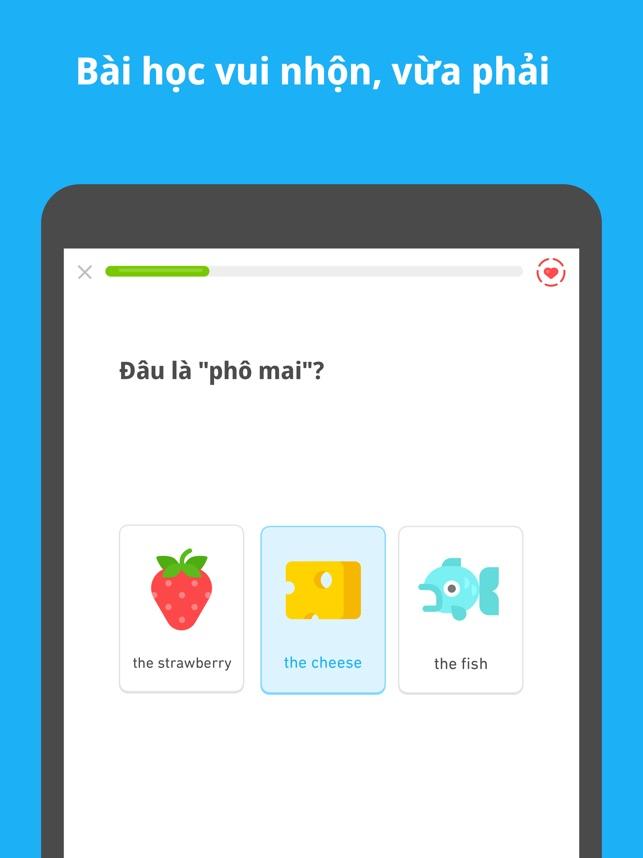 Duolingo - học tiếng Anh