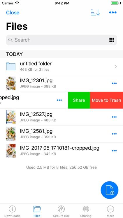 RedApp Web Browser screenshot-3