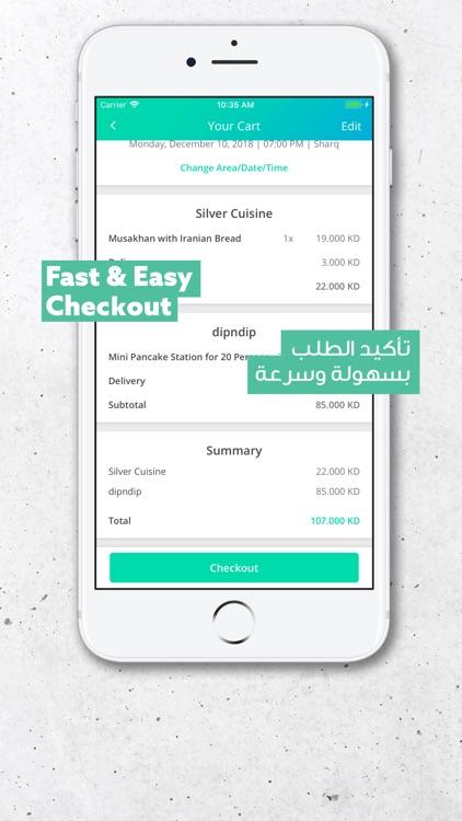 Bilbayt - Order Catering screenshot-3
