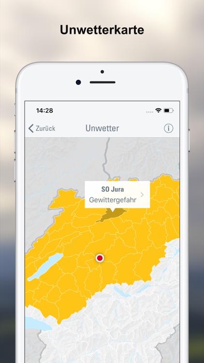 Wetter-Alarm: für die Schweiz screenshot-4