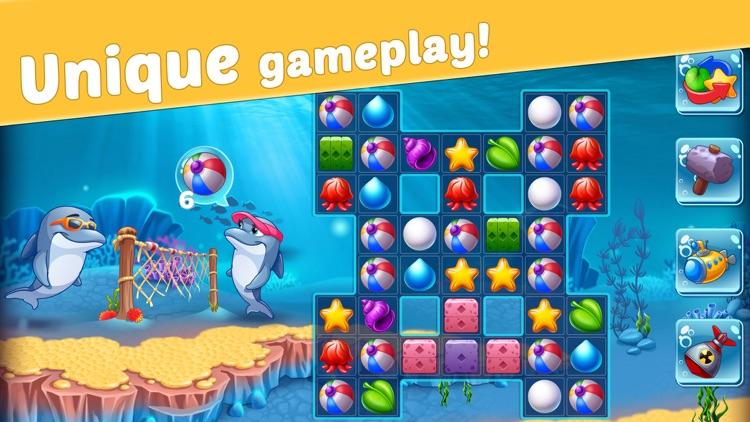 Reef Rescue: Match 3 Adventure screenshot-5