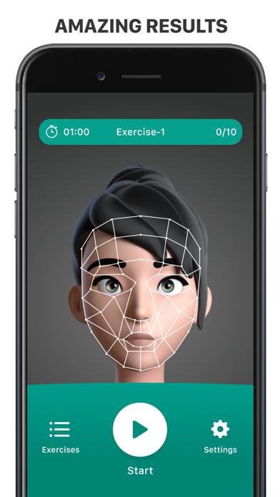Facebuilding app: look younger Screenshot