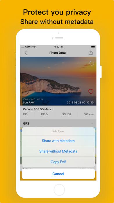 Exif Viewer - Photo Metadata Screenshots