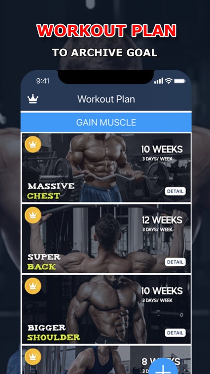 Fitness: Home & Gym Workouts screenshot-3