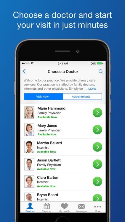 LiveHealth Online Mobile screenshot-3