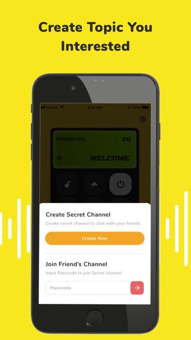 تطبيق «ووكي تاكي» للأصدقاءلقطة شاشة8