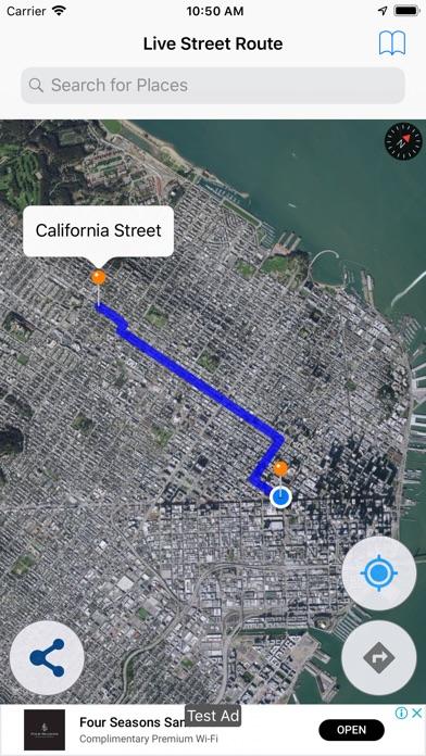 Screenshot for Live Street Route Map in Azerbaijan App Store