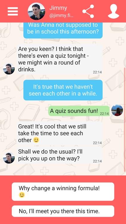 Hey Love Adam: Texting Game screenshot-5