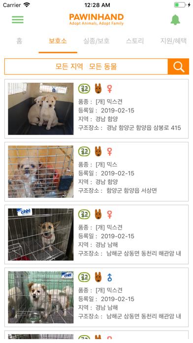 포인핸드 - 유기동물 입양 & 실종동물 찾기 for Windows