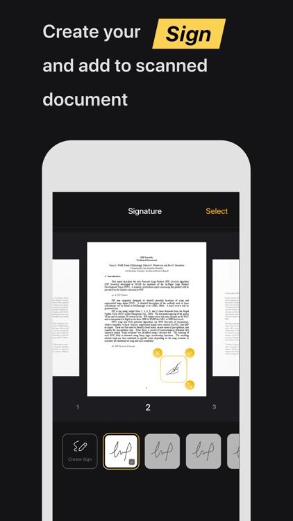 TuboScan: Smart Scanner-App screenshot-4