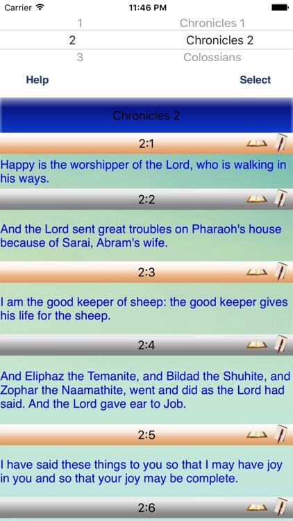 Basic English Voiced Bible screenshot-0