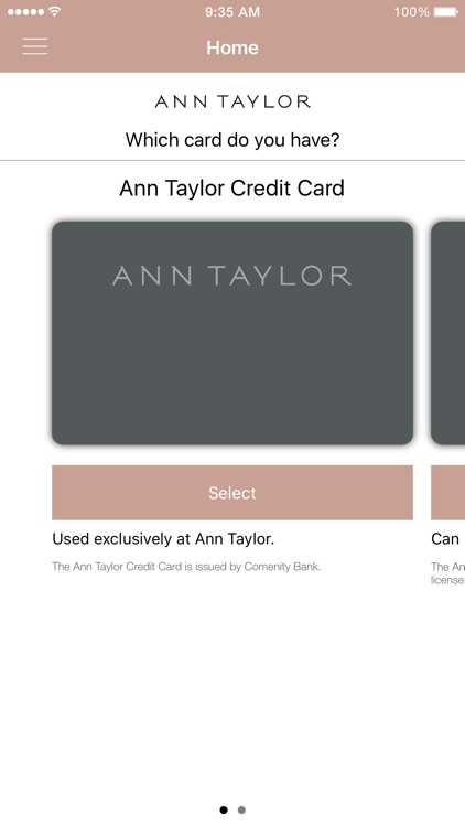 Ann Taylor Card screenshot-1