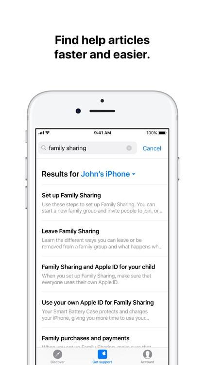 Apple Support screenshot-3