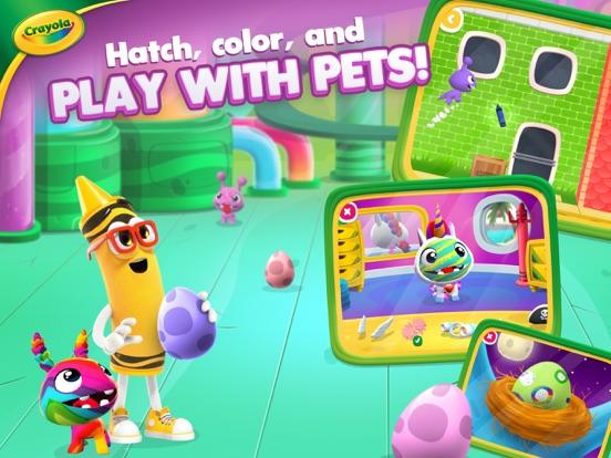 iPad Image of Crayola Create and Play