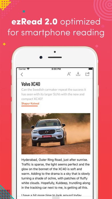 Autocar India Mag screenshot three