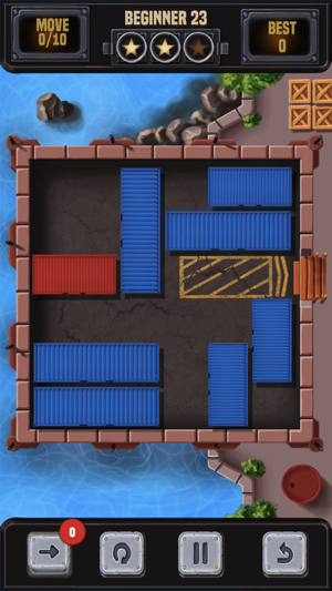 Unblock Container Block Puzzle Screenshot