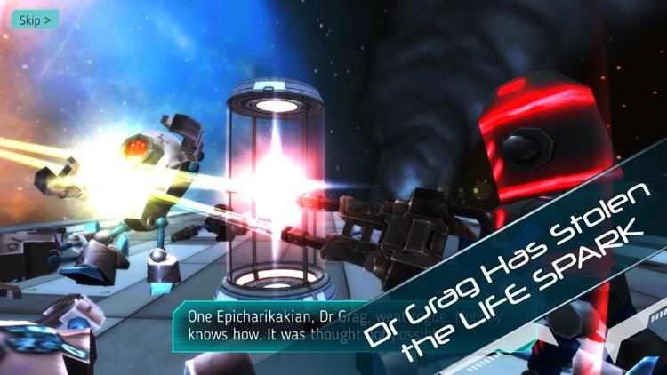 Explodey: Sci-Fi Side Scroller screenshot-0