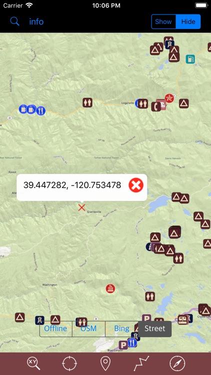 Tahoe National Forest – GPS screenshot-4